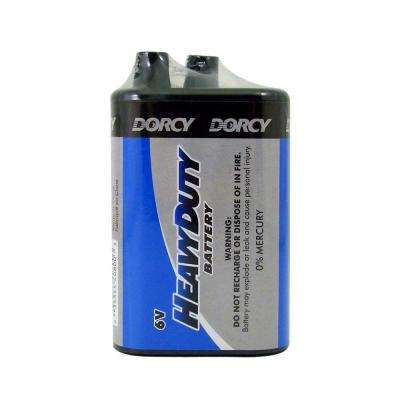 Master Cell Super Heavy Duty D-Cell Alkaline Battery (6-Pack)