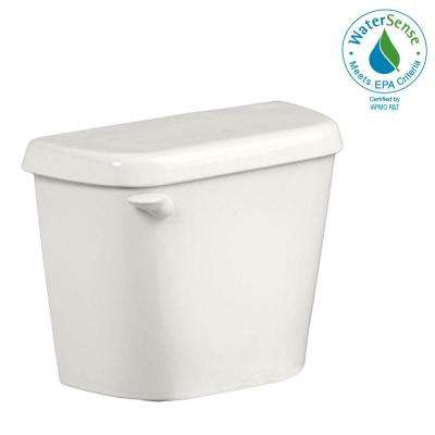 Colony 1.28 GPF Single Flush Toilet Tank Only for 12 in. Rough in White