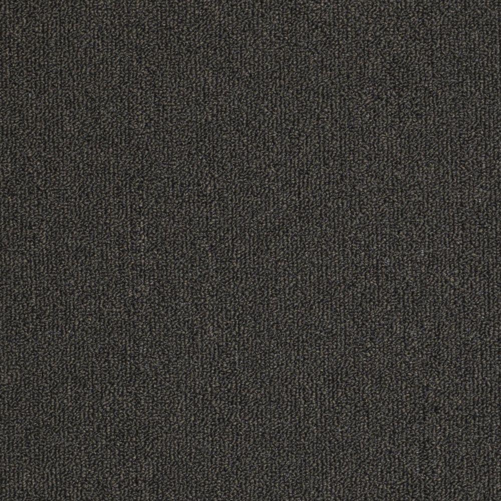 TrafficMASTER Soma Lake - Color Charcoal 12 ft. Carpet
