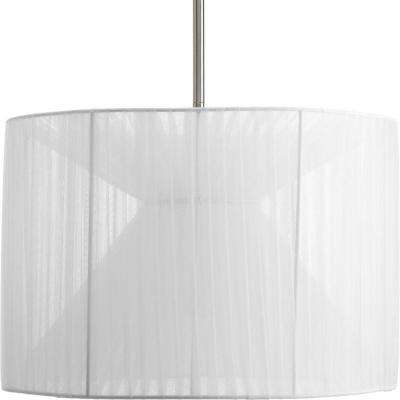 Markor Collection Silver Chiffon Accessory Shade