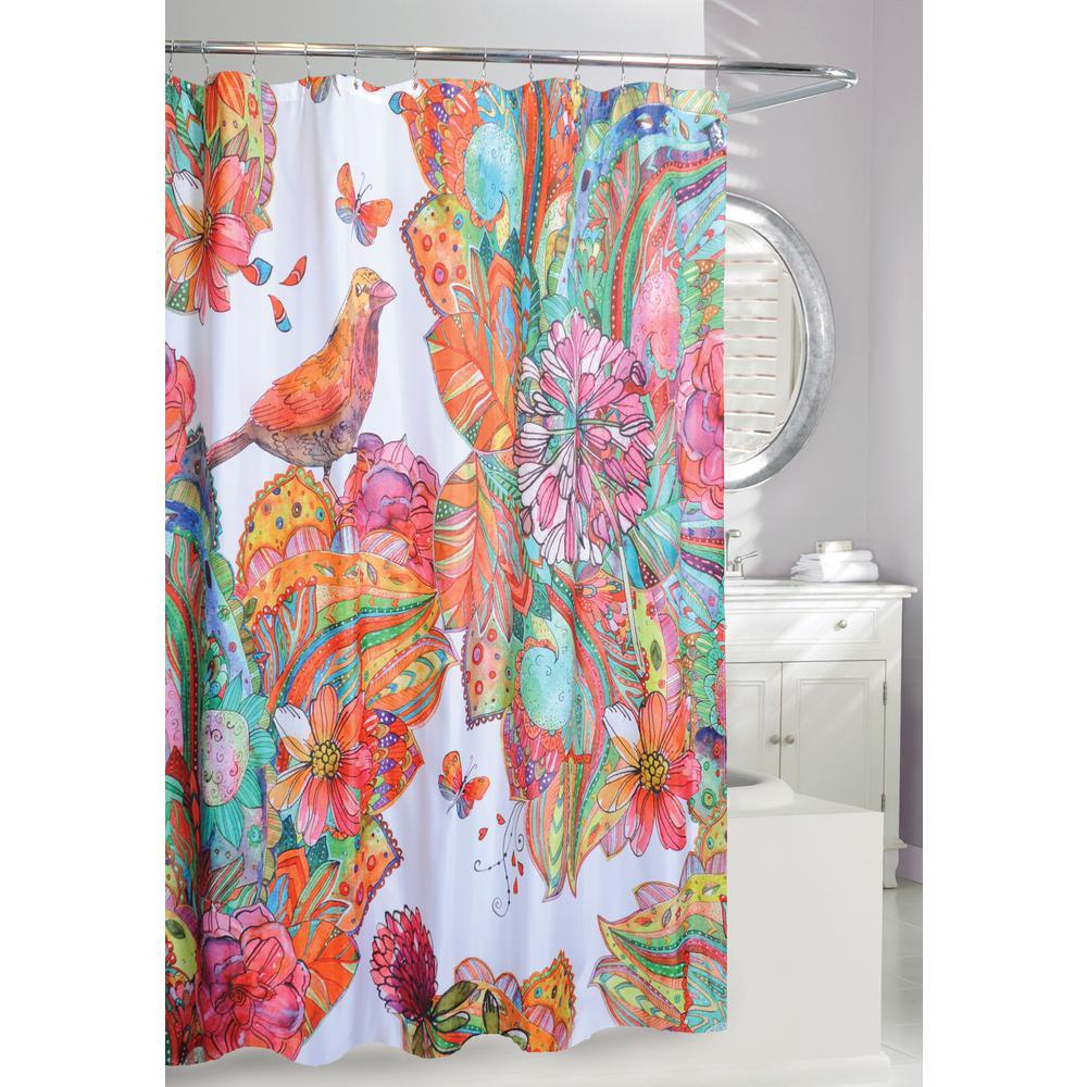 Art Journal Shower Curtain