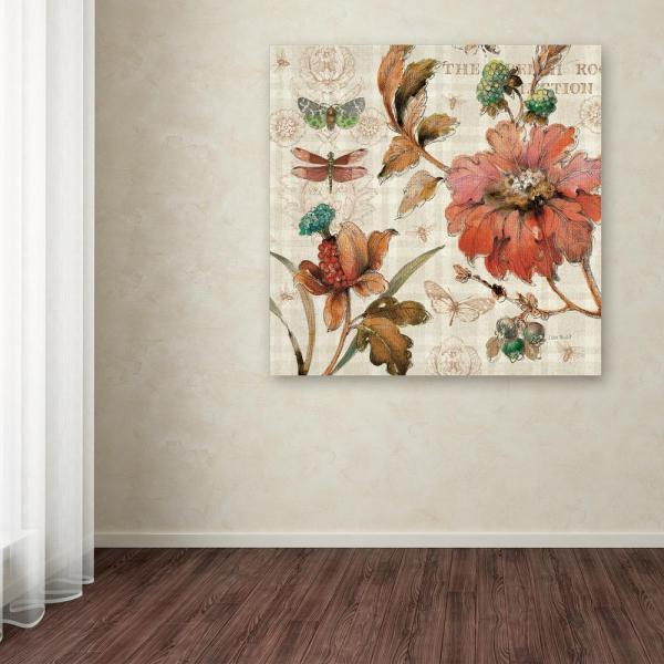 14 In X French Country V By Lisa Audit Printed Canvas Wall Art