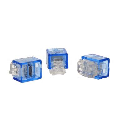 UB-I Blue IDC Tap Splice Connector (Standard Package, 4-Pack of 25)
