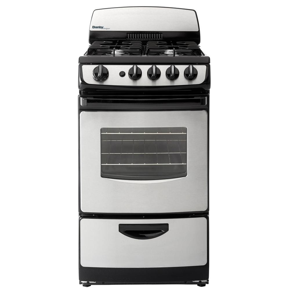 Danby 20 In 2 4 Cu Ft Gas Range With Manual Clean Oven