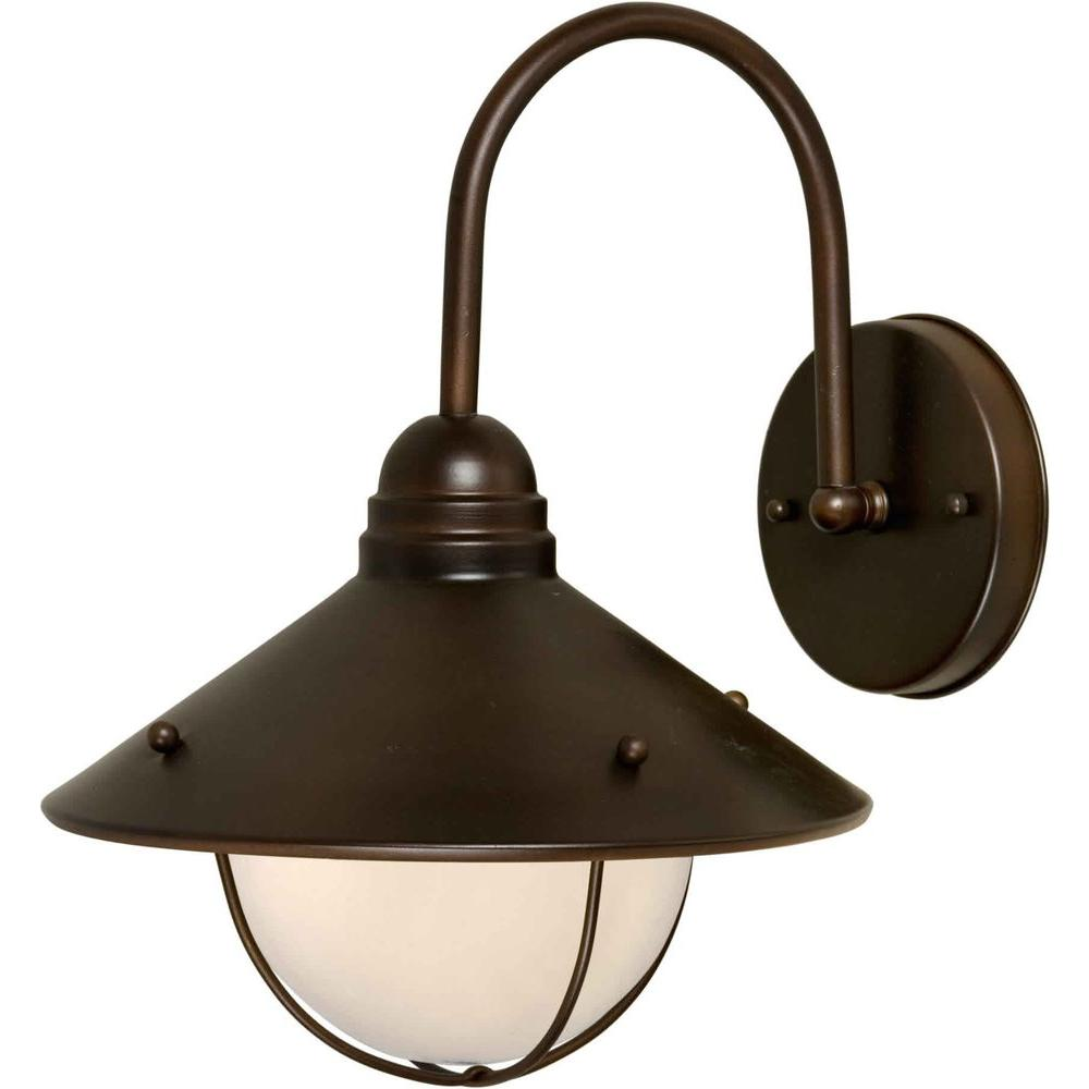 Talista Burton 1-Light Outdoor Antique Bronze Lantern