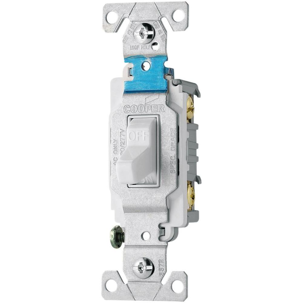 Legrand Pass Seymour Despard 15 Amp 3 Way Toggle Switch White Wiring Diagram 110 Volt 20 120 277 Side Wire Compact