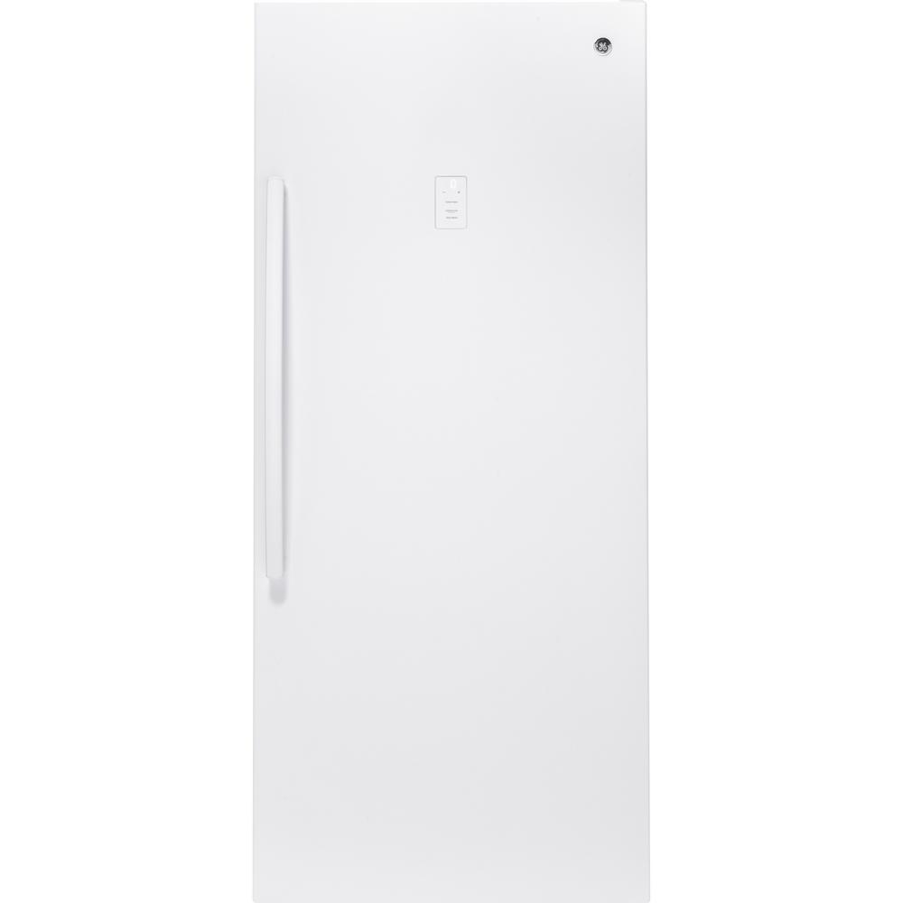 GE Garage Ready 21.3 cu. ft. Frost Free Upright Freezer in White
