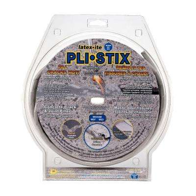 Pli-Stix 4 lb. 30 ft. Medium Gray Permanent Concrete Joint and Crack Filler