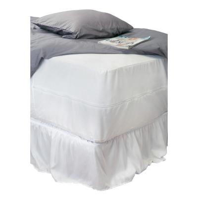 Full Sanitized Waterproof Mattress Encasement