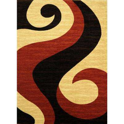 Istanbul Collection Multi-Colored 8 ft. x 10 ft. Area Rug