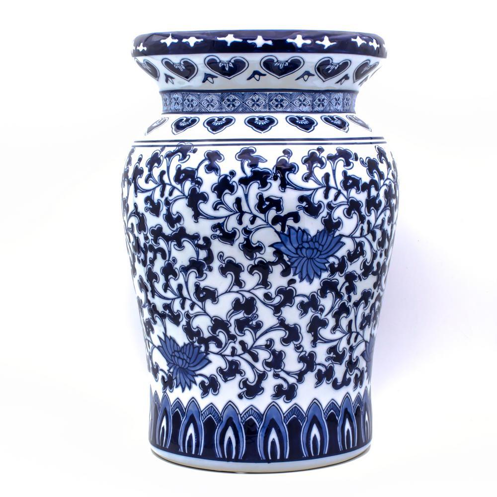 Blue Garden Decorative Podium Stool 32012