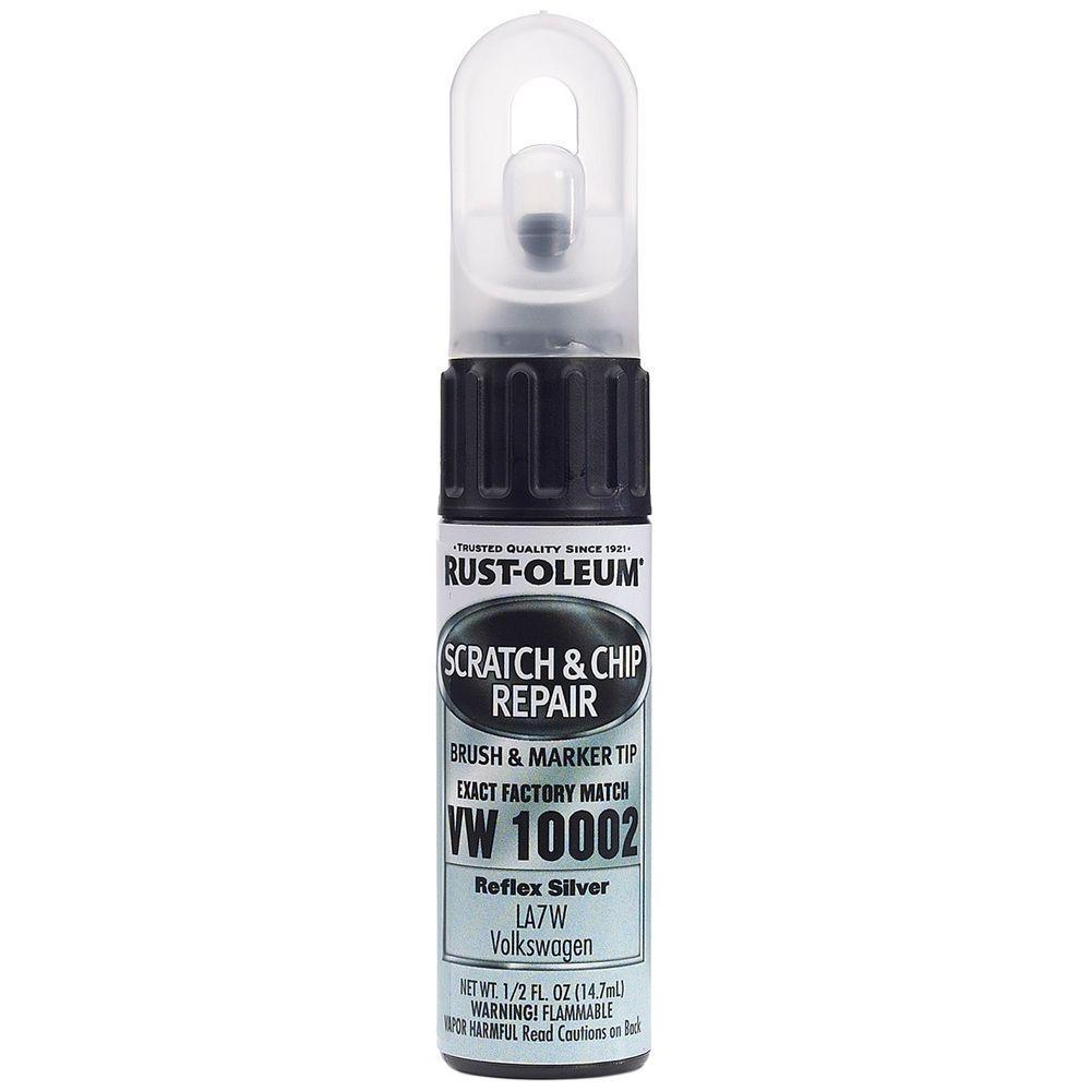 0.5 oz. Reflex Silver Scratch and Chip Repair Marker (6-Pack)