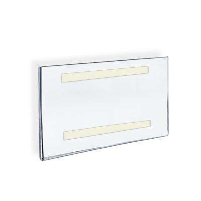 11 in. W x 8.5 in. H Acrylic Clear Wall U-Frame with Adhesive Tape (10-Pack)