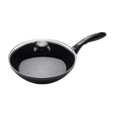 10.25 in. Induction Edge Stir Fry Pan with Lid