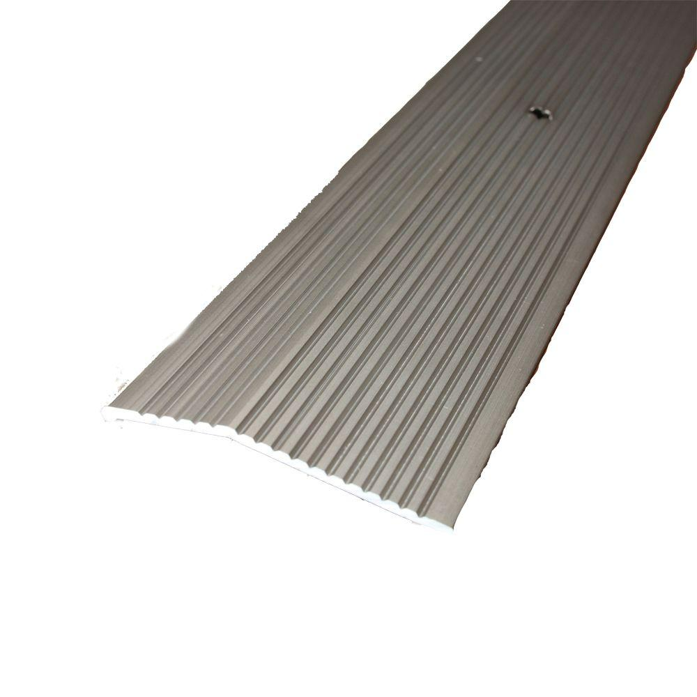 Pewter Fluted 36 in. x 2 in. Carpet Trim