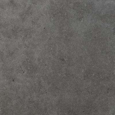 River Crest Black Matte 24 in. x 24 in. Color Body Porcelain Floor and Wall Tile (15.2 sq. ft. / case)