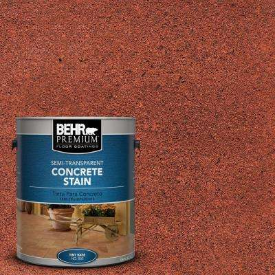 1 gal. #STC-33 English Brick Semi-Transparent Interior/Exterior Concrete Stain