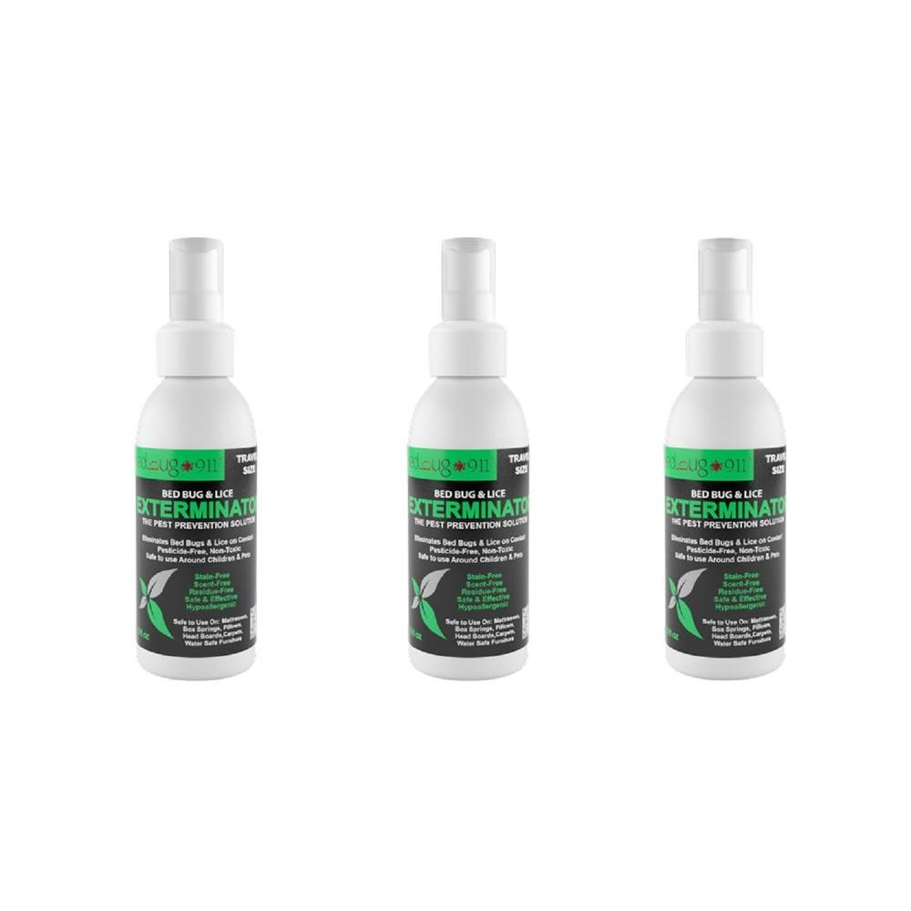 Bed Bug Spray Home Depot >> Hygea Natural 3 oz. Bed Bug Spray (3 Pack)-EXTC-2615 - The Home Depot