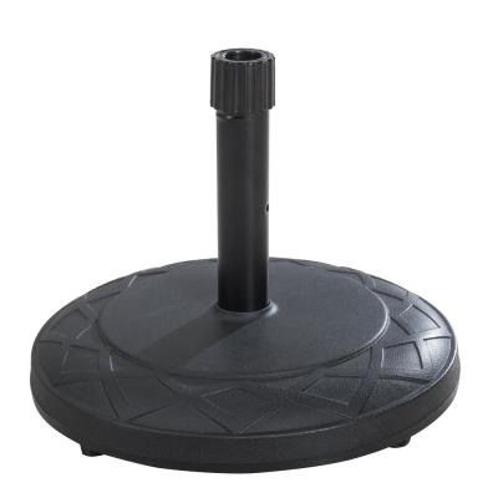44 lbs. Concrete Patio Umbrella Base in Black