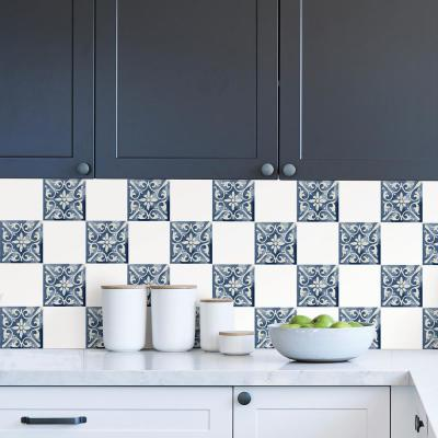 Marrakech Blue Tile Decal Kit