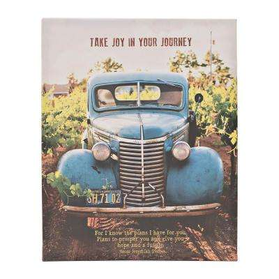 "The Canvas Collection ""Take Joy in Your Journey"" by Carpentree Printed Canvas Wall Art"