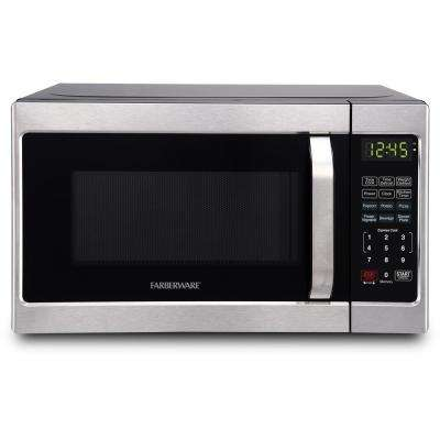 Classic 0.7 cu. Ft. Countertop Microwave in Brushed Stainless Steel