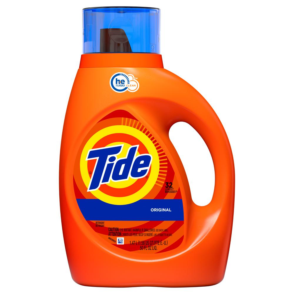 Tide 50 oz. Original Scent HE Liquid Laundry Detergent (32 Load)