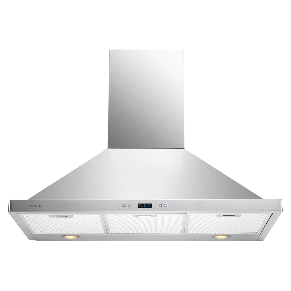 Cavaliere 36 In Convertible Range Hood In Stainless Steel