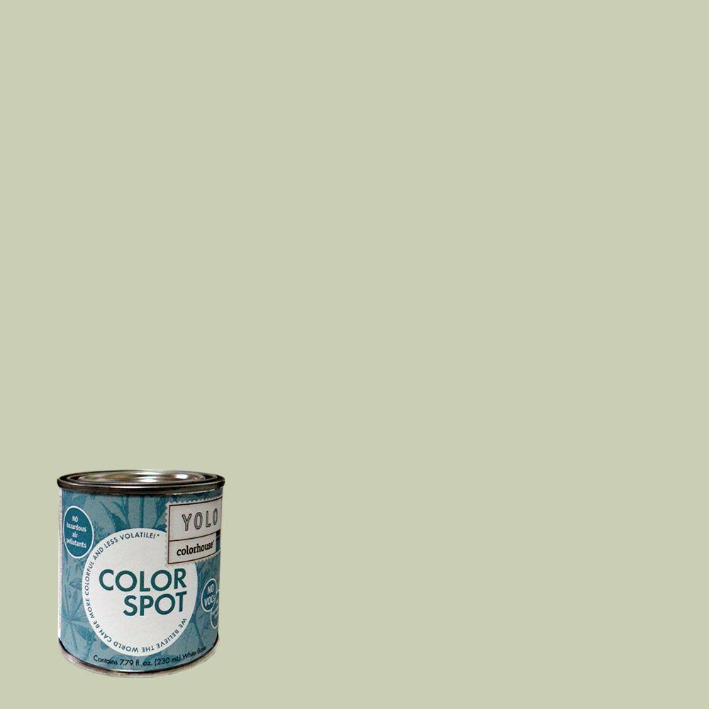 YOLO Colorhouse 8 oz. Glass .02 ColorSpot Eggshell Interior Paint Sample-DISCONTINUED