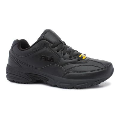 Fila Men's On The Job Slip Resistant Athletic Shoes Soft