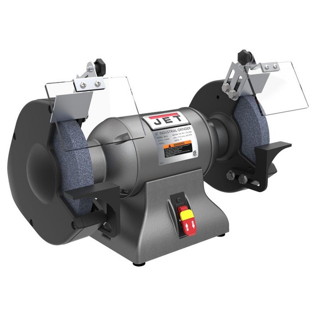 1 HP 8 in. Industrial Metalworking Bench Grinder, 115/230-Volt IBG-8