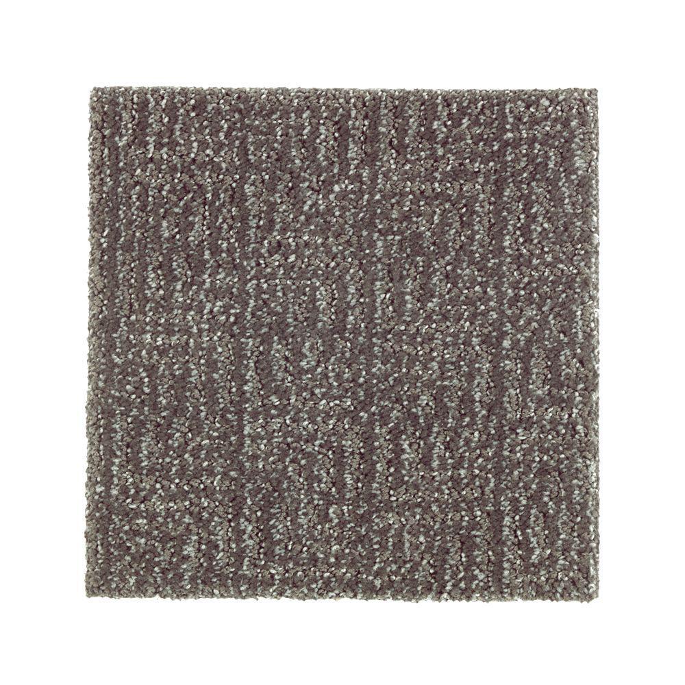 PetProof Carpet Sample - Scarlet - Color Rough Stone Pattern 8 in. x 8 in.