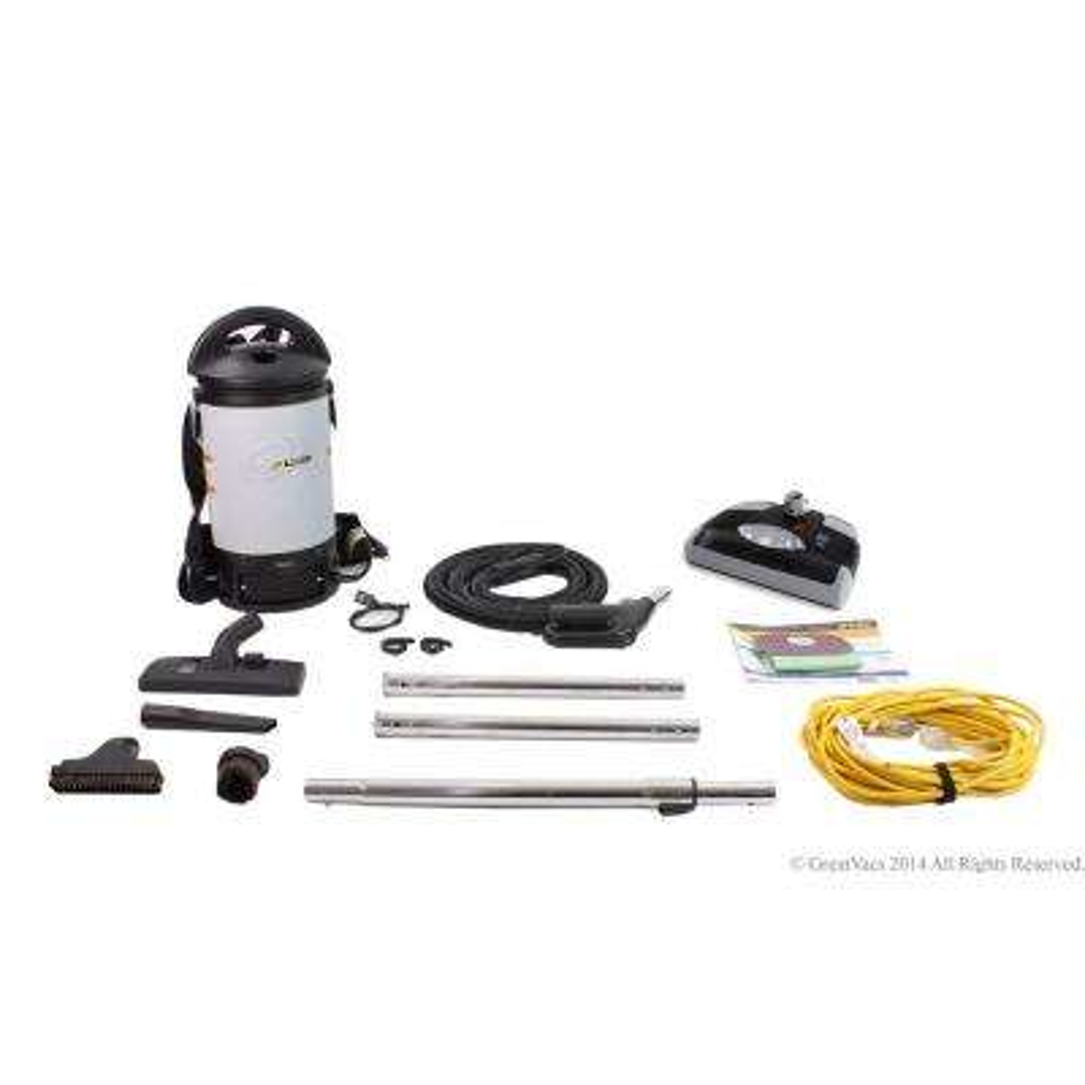 Sierra Backpack Powerful Commercial Vacuum Cleaner with Power Head