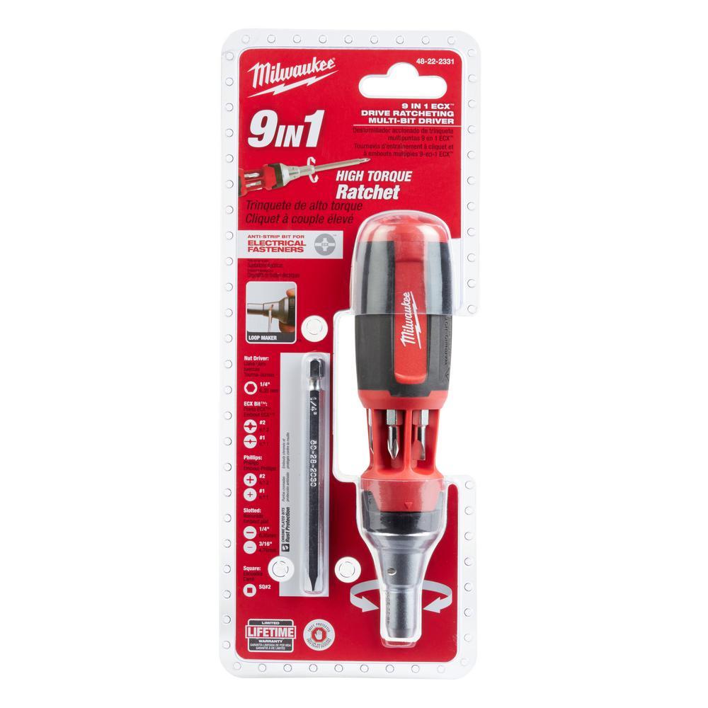 Milwaukee 4932464061 VDE Socket Wrench Screwdriver SW8 x 125mm