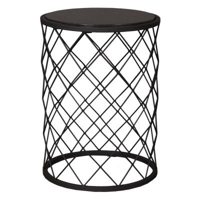 Wrought Iron Black Patio Tables Patio Furniture The Home Depot