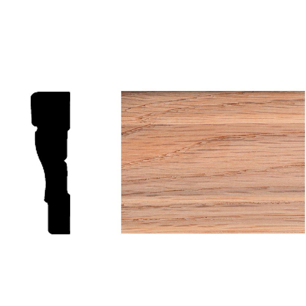 1/2 in. x 2-1/4 in. x 7 ft. Oak Colonial Casing