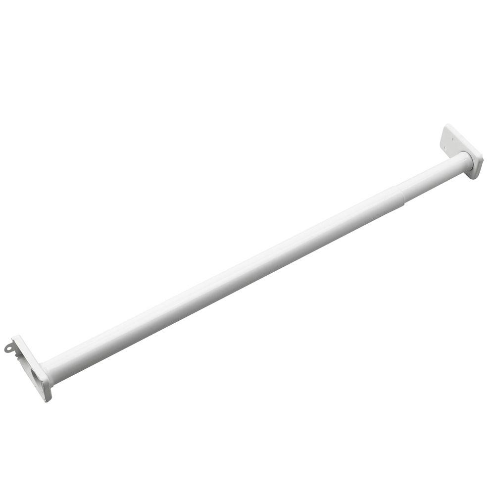 Richelieu Hardware 30 In To 48 Adjustable Closet Rod