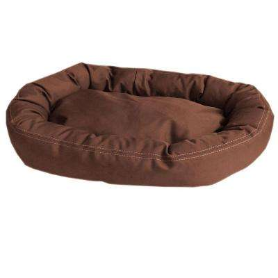 Brutus Tuff Comfy Cup Large Chocolate Bed