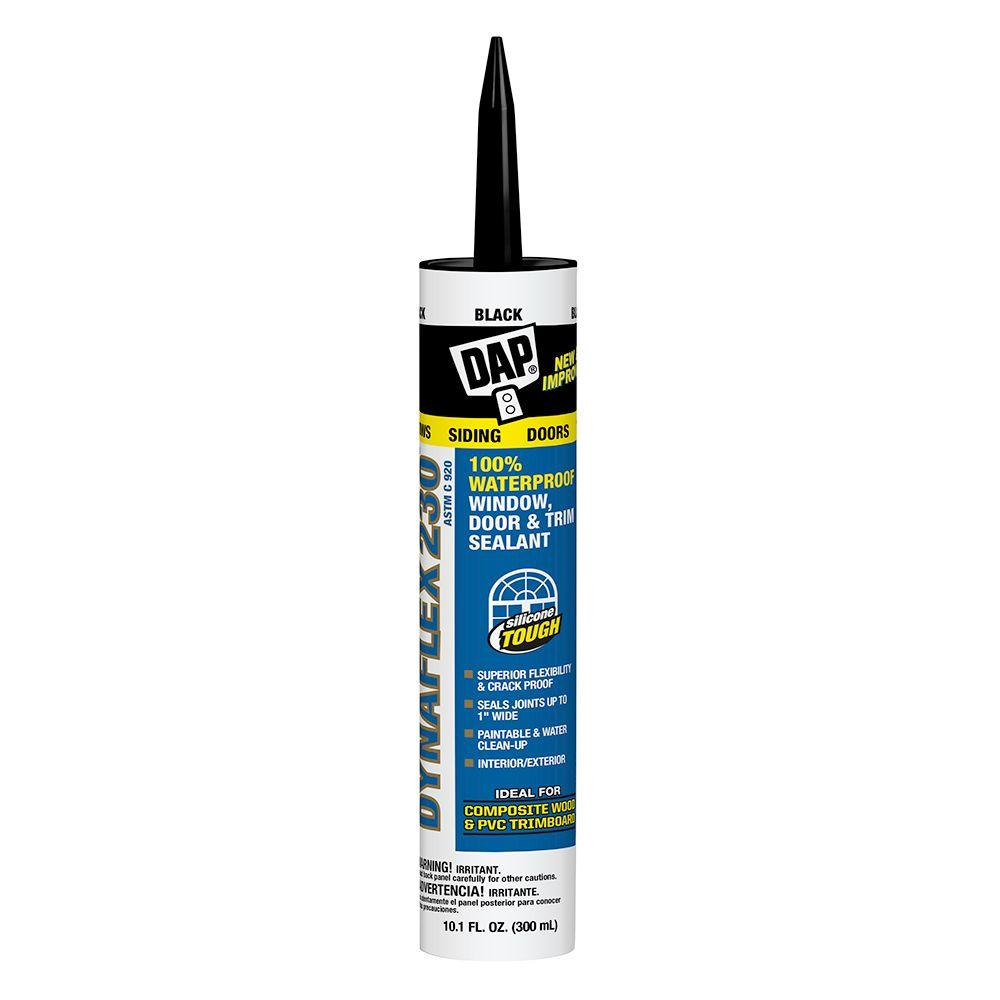 DAP Dynaflex 230 10.1 oz. Black Premium Indoor/Outdoor Sealant