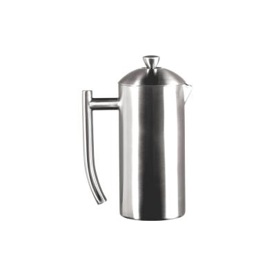Brushed 4-Cup Stainless Steel French Press