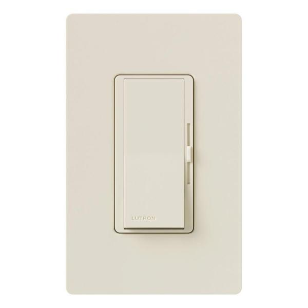 Diva Electronic Low Voltage Dimmer, 300-Watt, Single-Pole or 3-Way, Light Almond