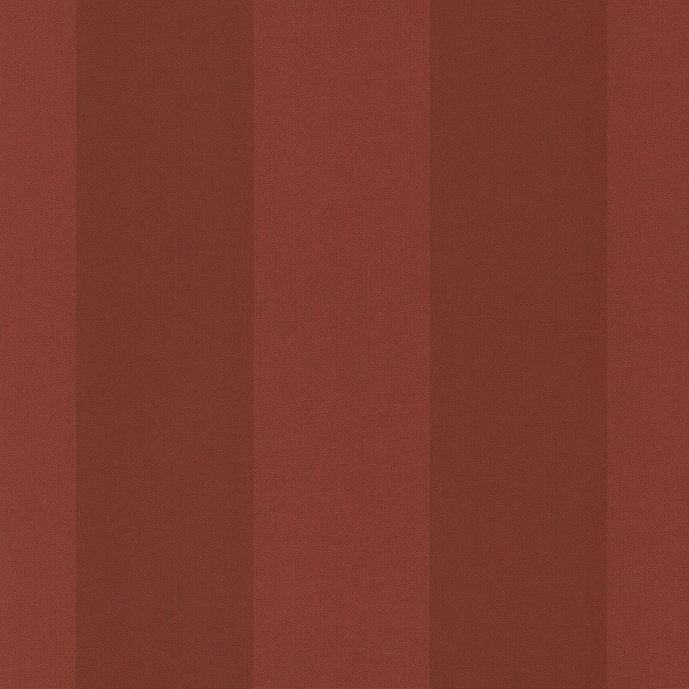 Chesapeake Harpswell Ruby Herringbone Awning Stripe Wallpaper Sample