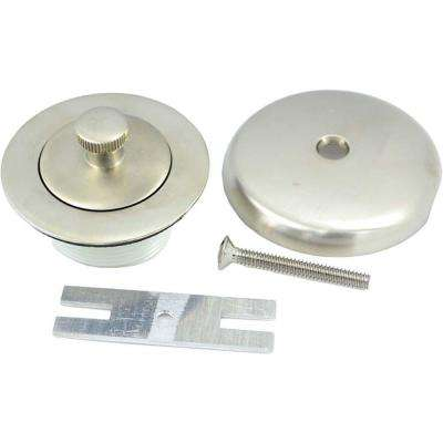 Lift and Turn Bath Trim Kit in Brushed Nickel