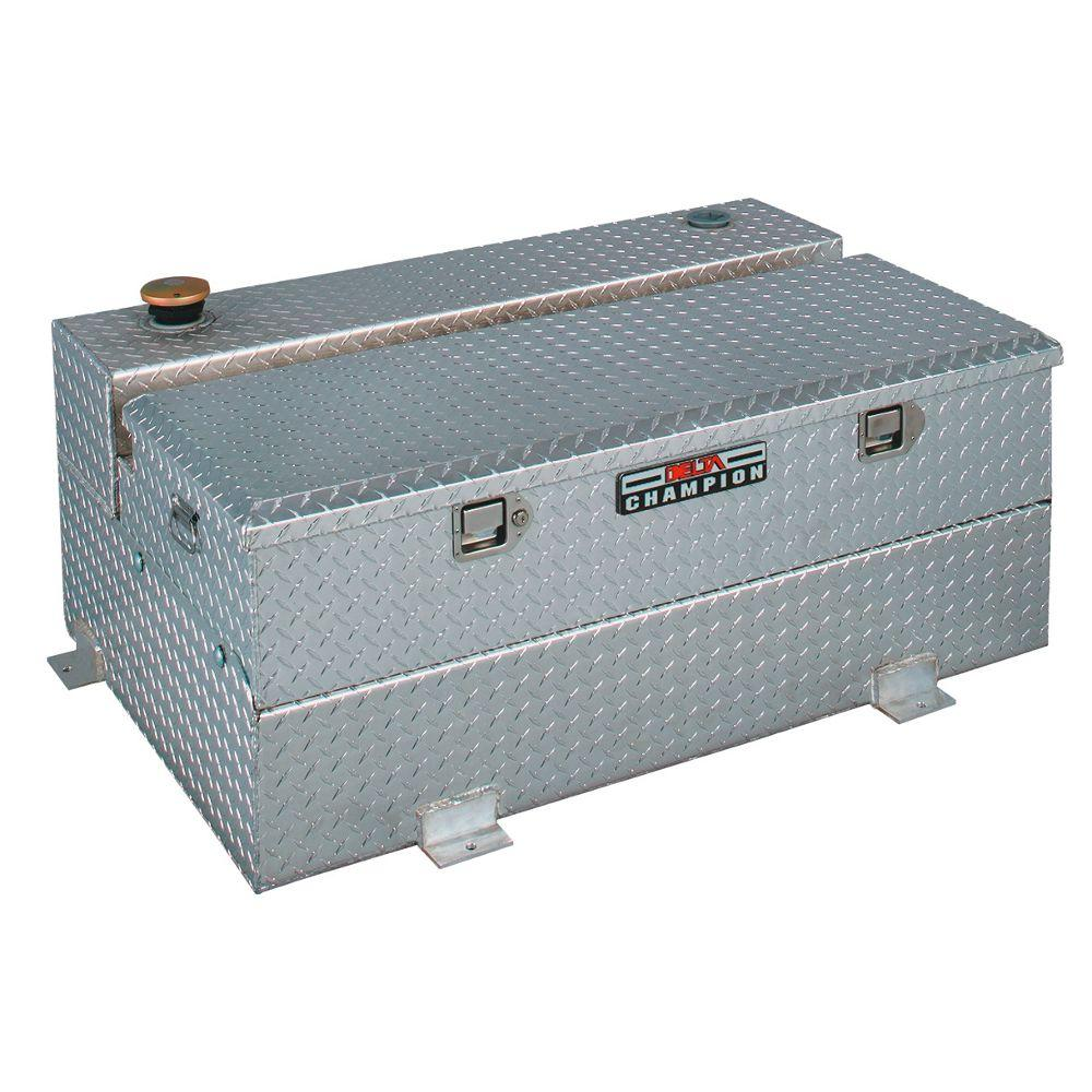 48.25 in. Champion Fuel-N-Tool Aluminum Liquid Transfer Tank with Removable