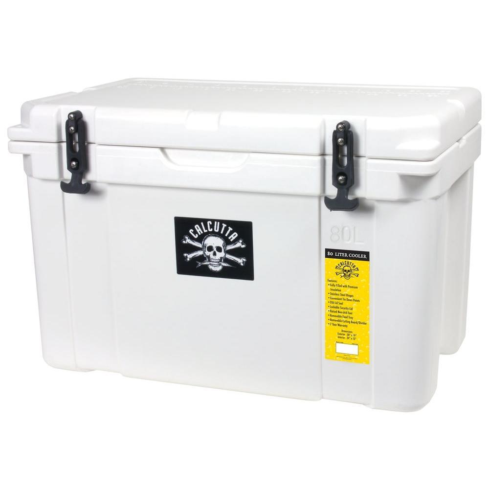 80 Qt. Cooler, White