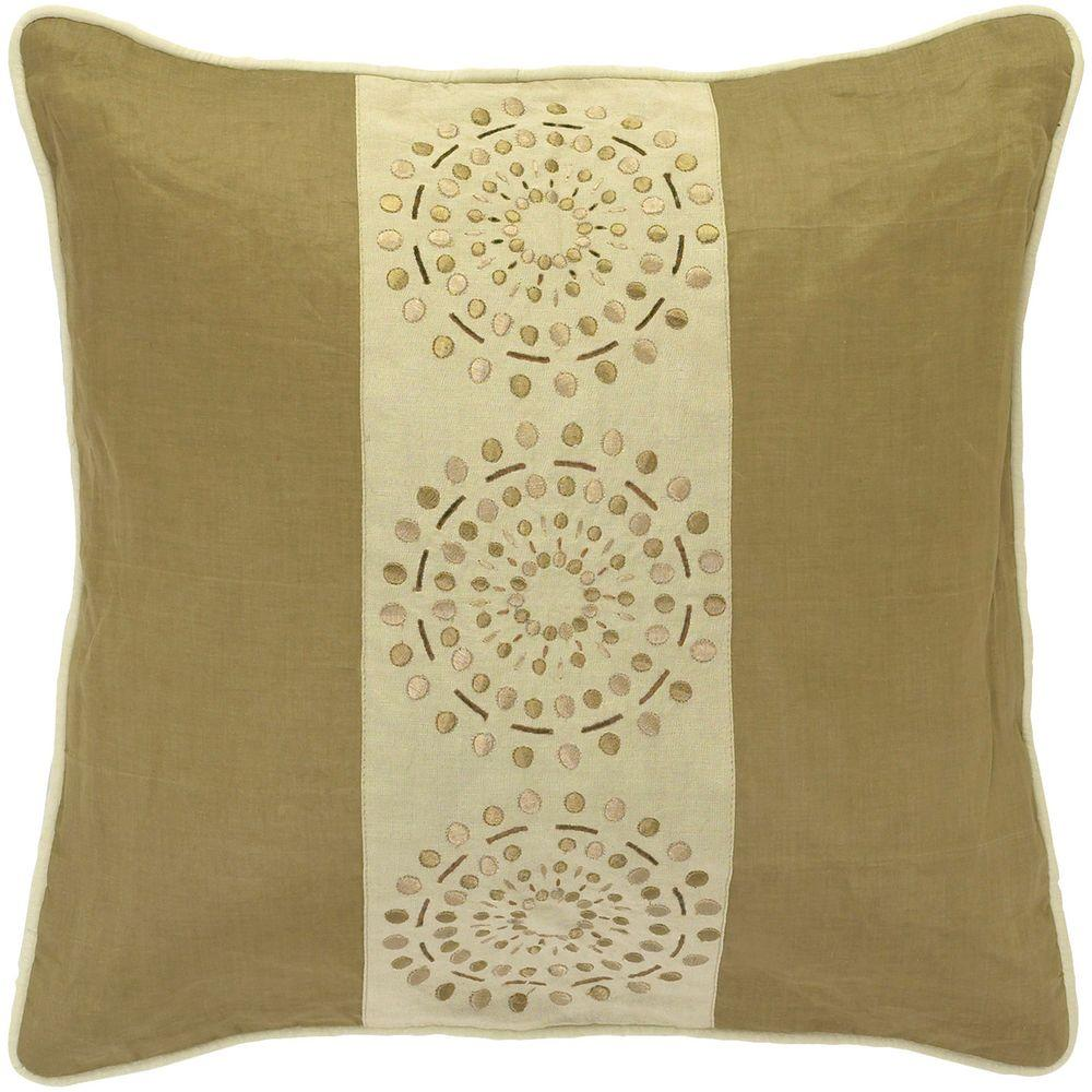 Artistic Weavers DotsD 18 in. x 18 in. Decorative Down Pillow