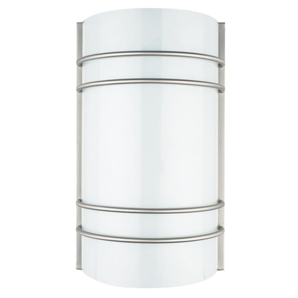 Luminance ADL Lumin Bright Satin Nickel Indoor LED Dimmable Wall Sconce