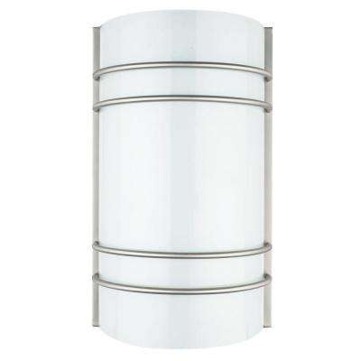 ADL Lumin Bright Satin Nickel Indoor LED Dimmable Wall Sconce