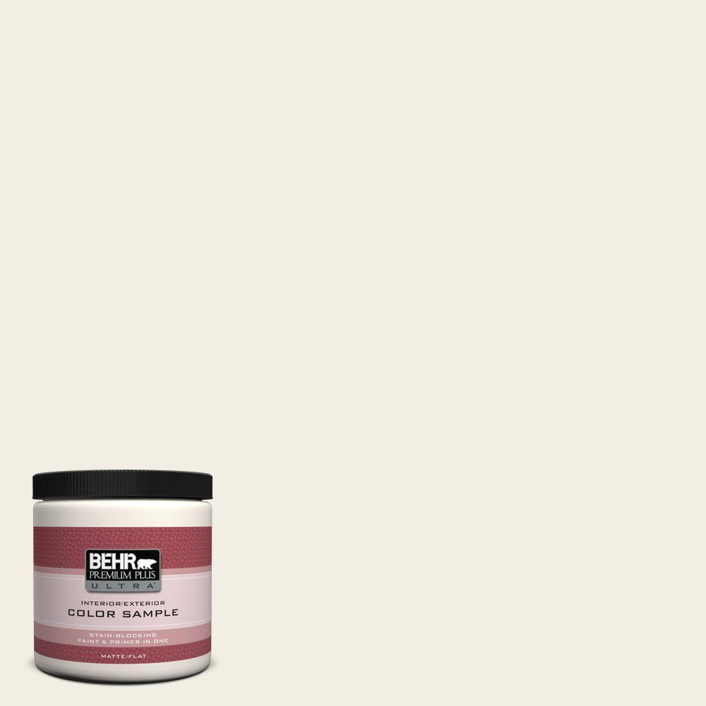 BEHR Premium Plus Ultra 8 oz. #760C-1 Toasted Marshmallow Interior/Exterior Paint Sample