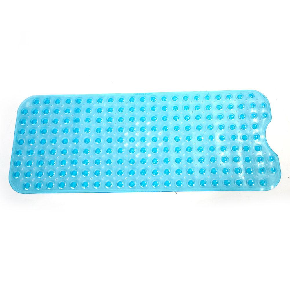39 in. x 15 in. Bathroom Bathtub Non-slip Bath Mat, Blue
